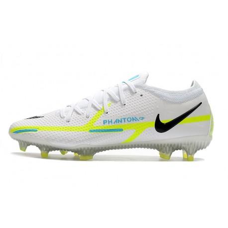 Nouvelle Nike Crampons de Football Hypervenom Phantom 2 FG Rouge Bronze Noir Blanc
