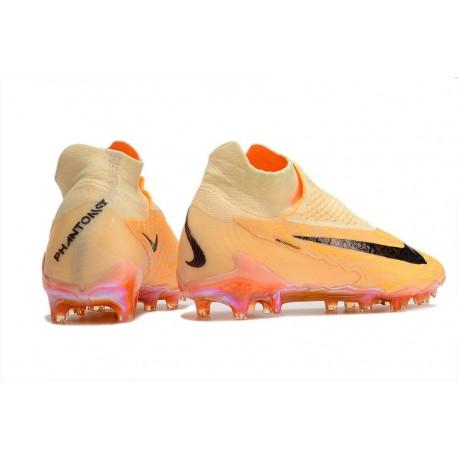 Chaussures Nouvelle Nike Hypervenom Phinish II FG Volt Noir Bleu