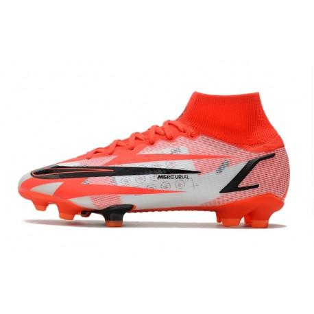 Chaussures de Foot Nike HyperVenom Phantom FG ACC Saphir Bleu Rouge